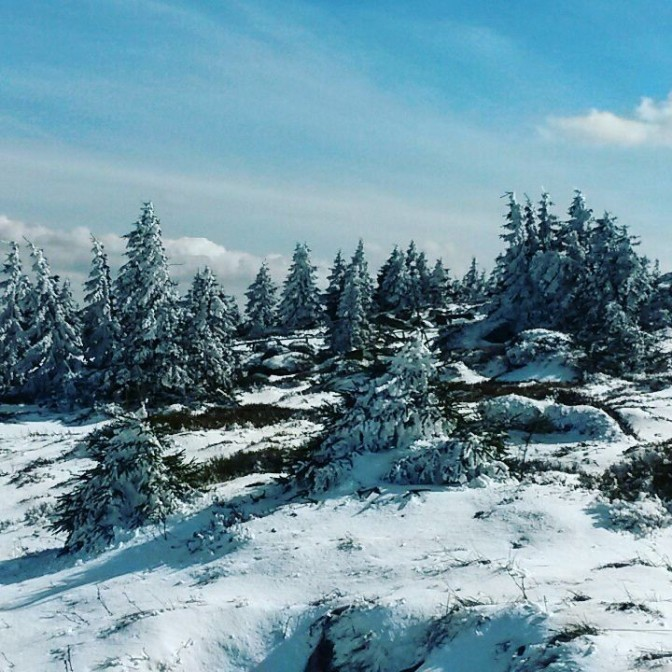 brocken snow